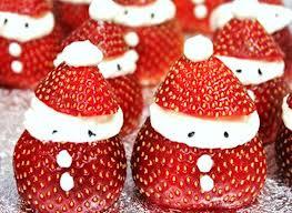 Xmas strawberry santa 1